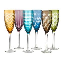 Flûte à champagne Blocks - lot de 6