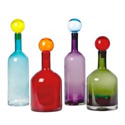 Carafe Bubbles & Bottles - lot de 4