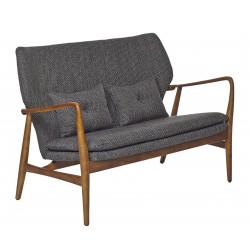 Canapé droit Peggy / 2 places