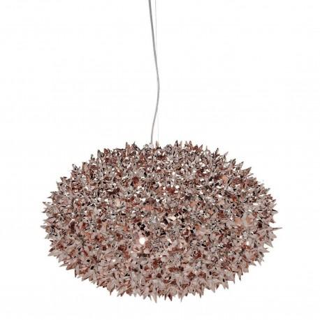 Suspension Bloom métallisée / Ø: 53 cm