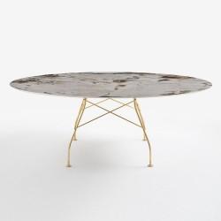 Table Glossy / plateau oval