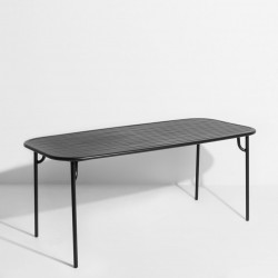 Table rectangle WEEK-END