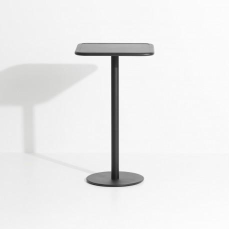 Table haute (carrée) WEEK-END