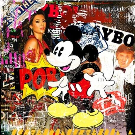 Tableau Playboy Mickey porn