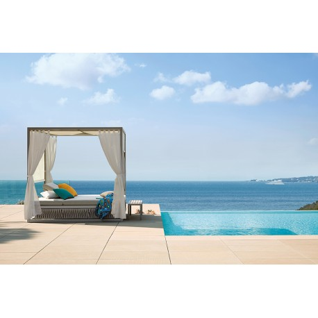 Daybed Avec Rideaux Kalife