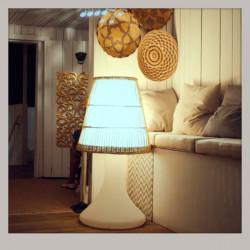 Lampe enceinte sans-fil HANDY Large