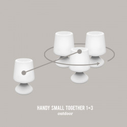 Lampes inter-connectées HANDY Small 1 + 3
