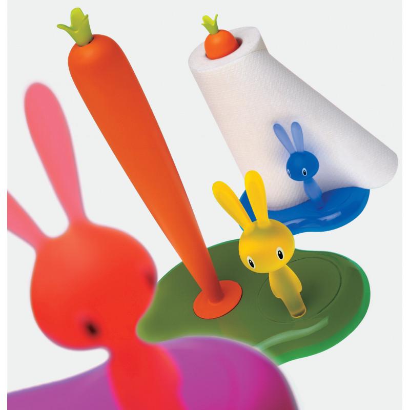 Porte Rouleau Sopalin Bunny Carrot Milano Design Store
