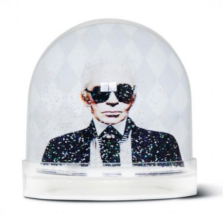 Boule de neige Karl Lagerfeld