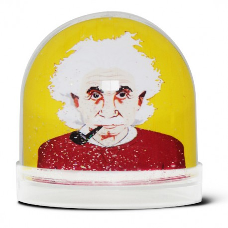 Boule de neige Albert Einsteinn
