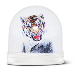 Boule de neige Tigerman