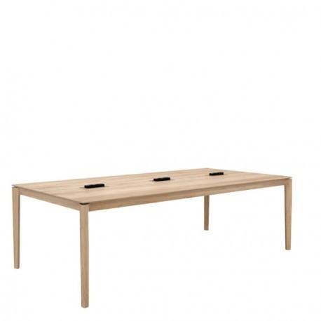 Table de coworking BOK en chêne