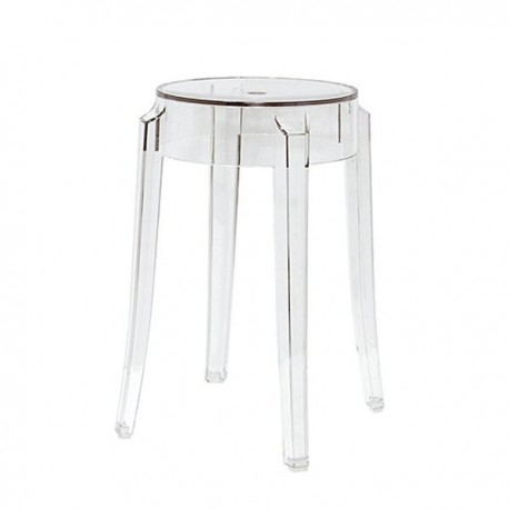 Tabouret Charles Ghost H46