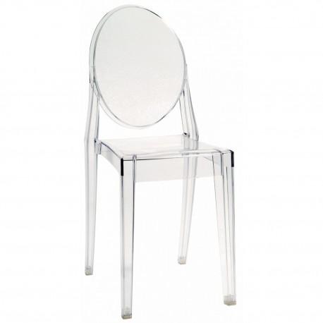 Chaise Victoria Ghost / lot de 4