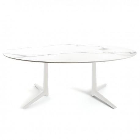 Table Multiplo XL / plateau ovale / intérieur