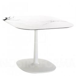 Table Multiplo / plateau carré marbre 99 cm / intérieur