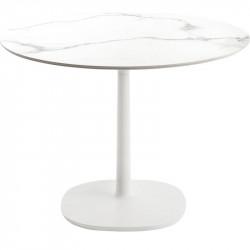 Table Multiplo / plateau rond marbre Ø 118 cm / intérieur